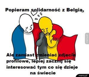 Reakcja na zamachy w Belgii