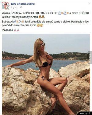 Chodoakowska ma dystans do siebie