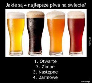 Najlepsze piwa na świecie
