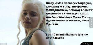 Daenerys studentka prawa