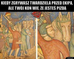 Koń wie