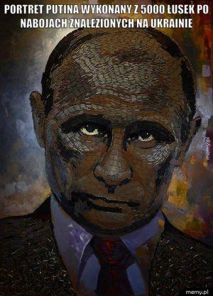 Portret Putina.