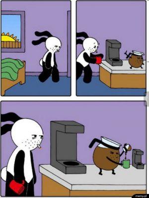 Każdy rano potrzebuje kawy