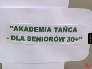 Akademia tańca dla seniorów