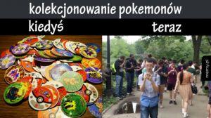 Kolekcjonowanie pokemonów