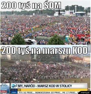 ŚDM vs KOD