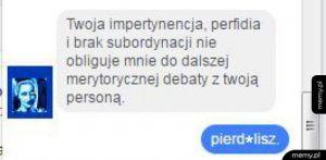 Merytoryczny dyskurs