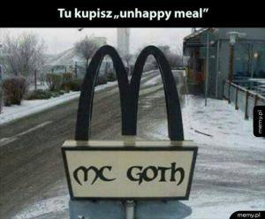 Unhappy meal