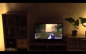 Telewizor i projektor