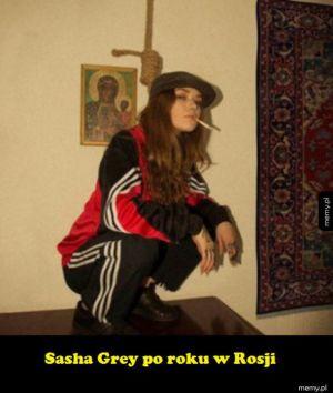 Sasha vs Rosja