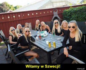 Szwecja kraj klonów