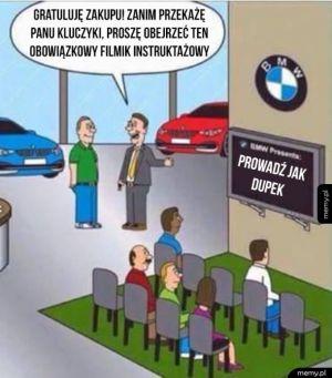 Kierowcy BMW tak mają