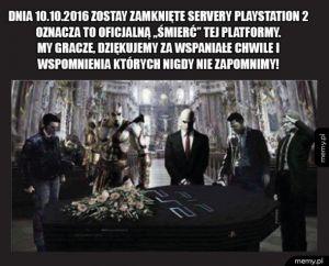 R.I.P Playstation 2! Będziemy pamiętać!