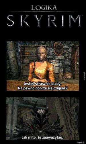 Logika w Skyrim