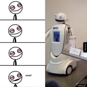 Robot na miarę czasów...