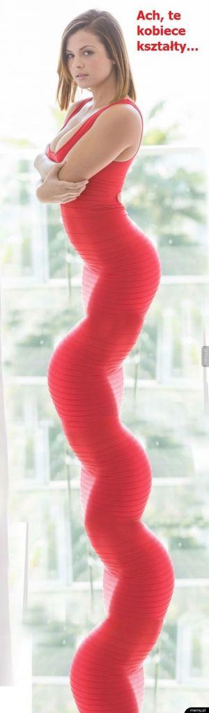 Kobiece kształty
