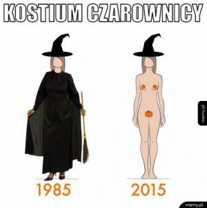 Halloween kiedyś i dzisiaj