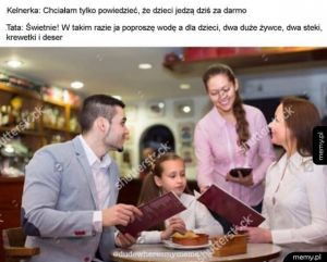 Dzieci jedzą dziś za darmo