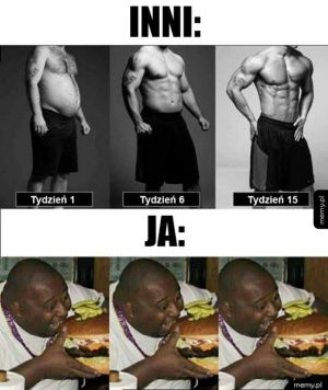 Różnica w podejściu do diety