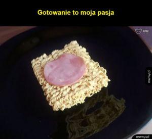 Jestem mistrzem gotowania