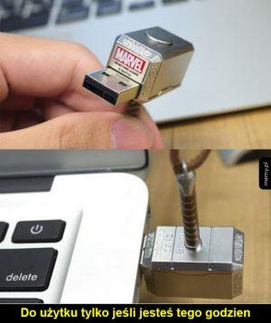 Młot Thora USB