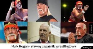 Hulk Hogan - sławny zapaśnik wrestlingowy