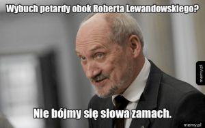 Petarda obok Lewandowskiego?